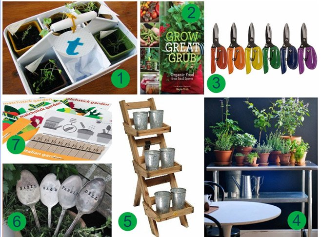 Easy herb gardening gear