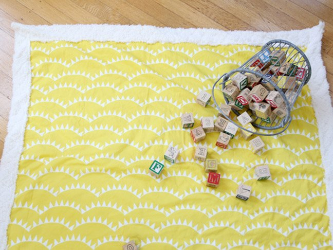 How To Sew A Simple Baby Blanket Even If Youre A Sewing Novice