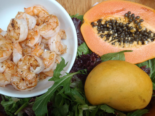 Tropical Shrimp Mango Salad