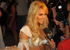 Jenny McCarthy Shows Off Her Amazing Figure At Vegas Party