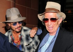 Johnny Depp And Keith Richards Enjoy A Guys' Night Out