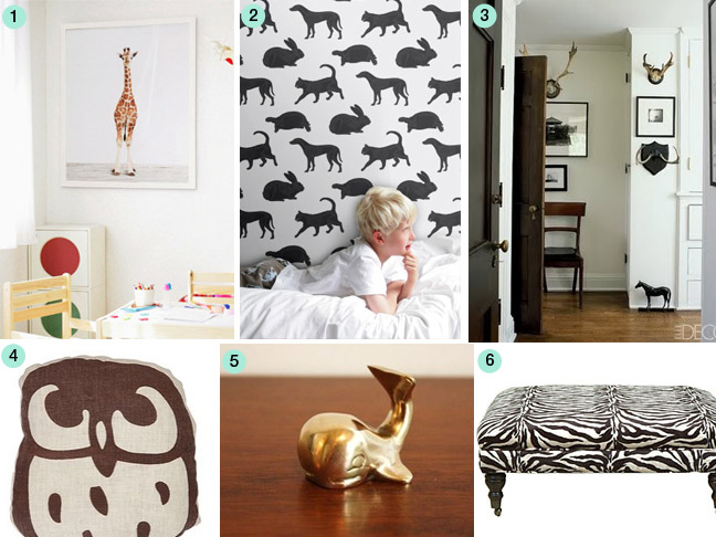 Decorating With Animal Prints And Accents