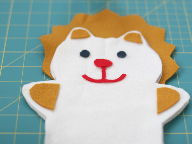 DIY: Felt Animal Puppet