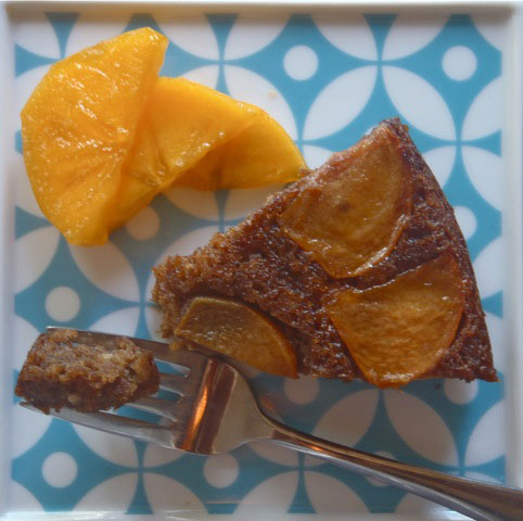 Persimmon Upside Down Spice Cake4
