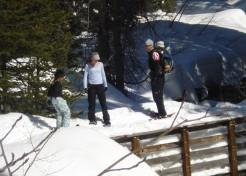 Snowshoeing for Fun Family Exercise