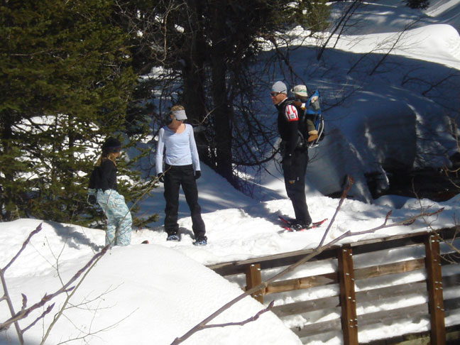 Snowshoeing for Winter Exercise1