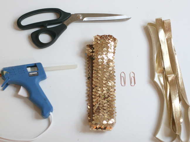 SEQUIN SHOE CLIP SUPPLIES
