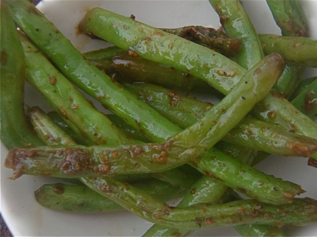 Sweet Garlic Green Beans