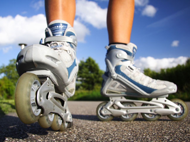 Cross-Training with Ice Skating or Rollerblades