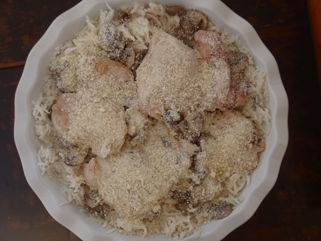 Cream of Mushroom Chicken and Rice3