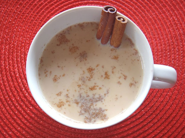 Hot Spiced Milk: A Kids Chai Tea