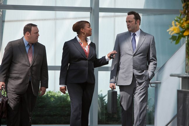 Vince Vaughn, Gray Suit, dilemma still