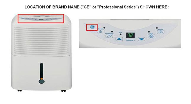 GE and Professional Series Brand Dehumidifiers Recalled-1