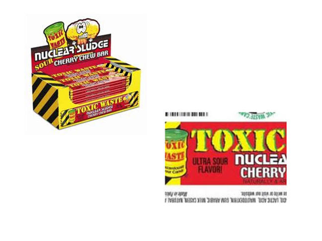 Nuclear Sludge Chew Bars recall