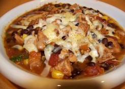 Chunky Turkey Super Bowl Chili