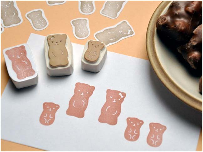 ETSY BEAR STAMP