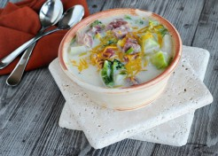 Ham, Corn and Potato Soup