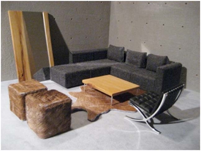 DOLLHOUSE COUCH