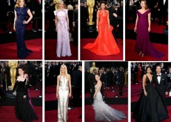 The 2011 Oscars: Academy Awards Red Carpet Fashions