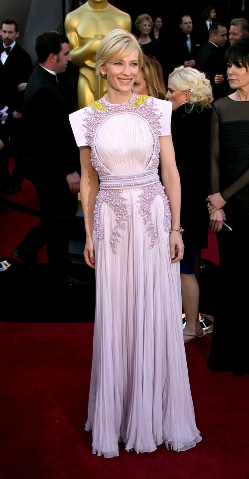 Cate Blanchett Givenchy oscar gown