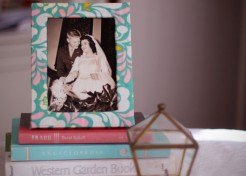 DIY: Fabric Covered Frame