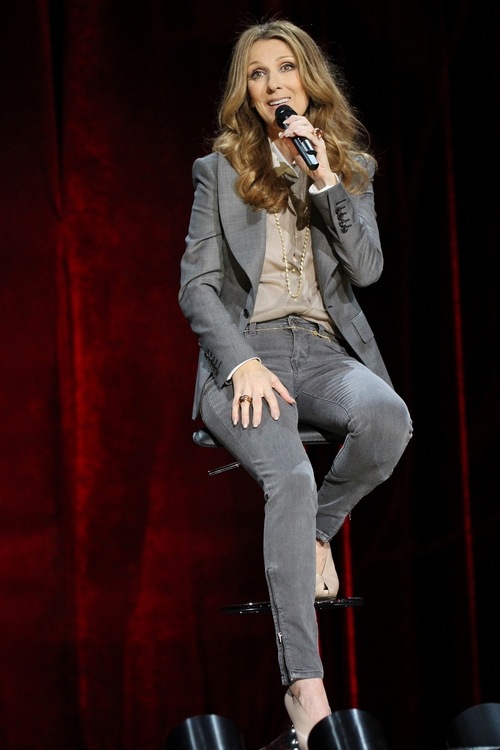 Celine Dion Loves To Share Her Family Life With Her Audience
