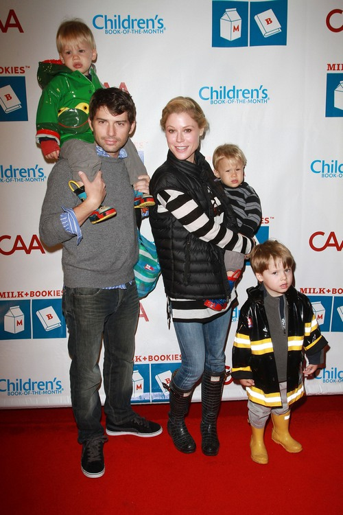 Celebrity Parents And Kids Out And About This Weekend