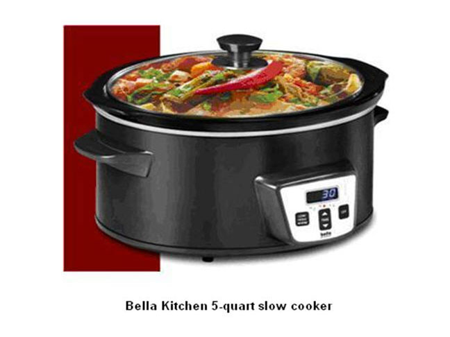 Slow Cookers from Burlington Coat Factory Recalled