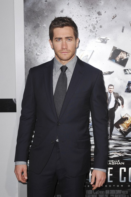 Jake Gyllenhaal dark suit