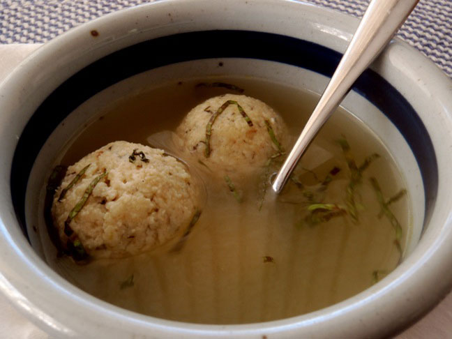 Matzo Ball Soup-4
