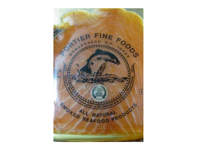 portier fine foods smoked salmon recalled