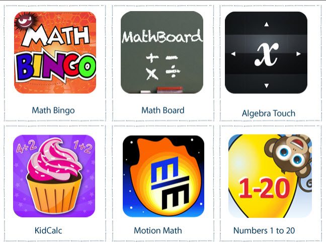 6 Apps For Math