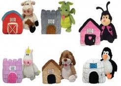 Happy Nappers-Pillow Pets With A House
