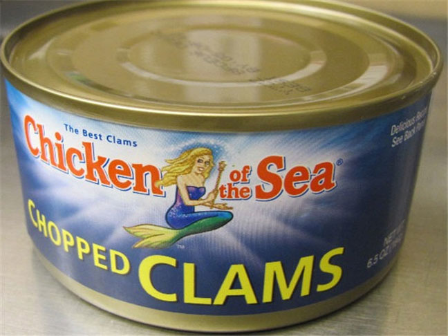 Chicken of the Sea Canned Clams Recalled