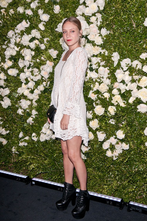 Chloe Sevigny white dress,