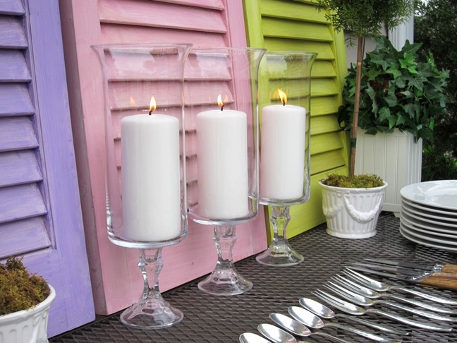 diy 2 candle holders - Diy Candle Holders