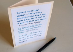 DIY: Printable Funny Father's Day Card
