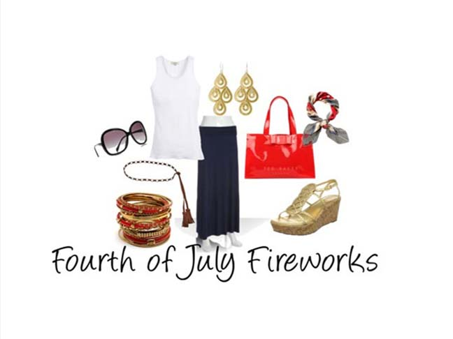 Fourth Of July: Fireworks Fashion