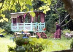Creating Backyard Bohemia with Gypsy Caravans