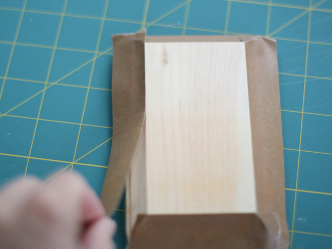 wood plaque masking tape