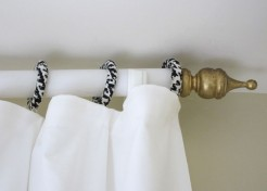 How to Make Decorative Curtain Rings