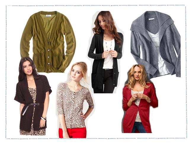 Transition To Fall Weather With A Sylish Cardigan