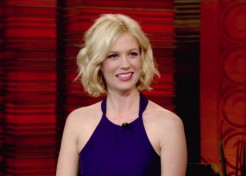 Mad Men Actress January Jones Welcomes Her First Child