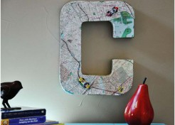 DIY Wall Initial Letters