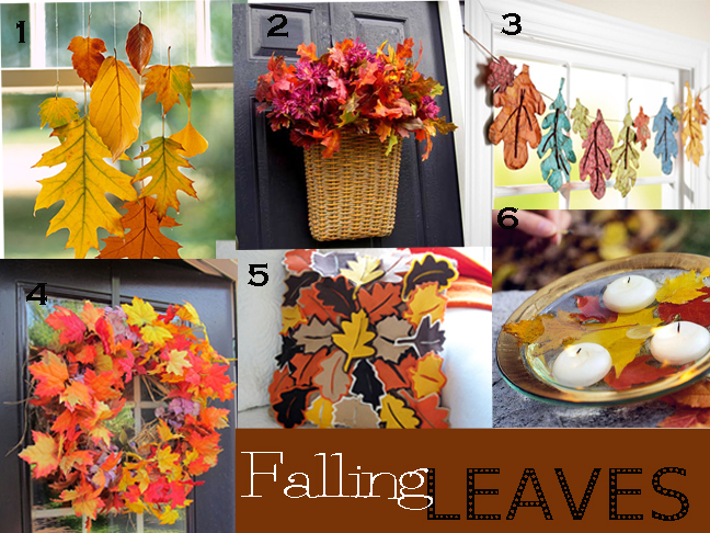 DIY: Autumn Pumpkins and Leaves