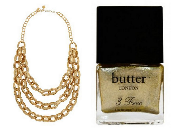 All That Glitters For Fall Is Gold