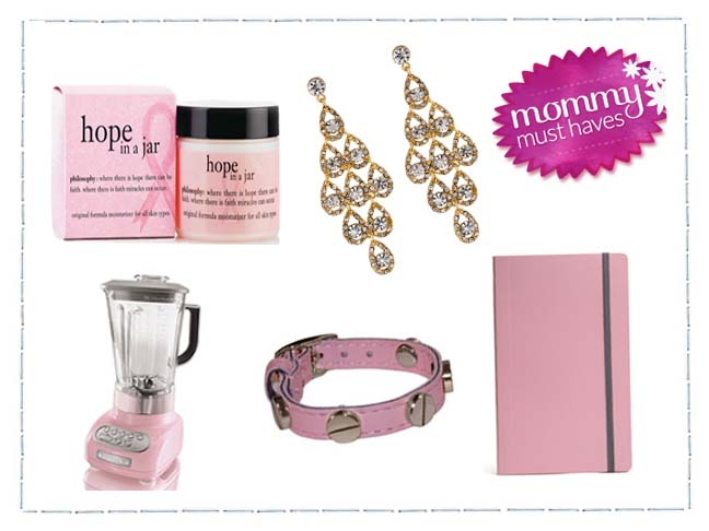 Mummy Must Haves: Pink Edition