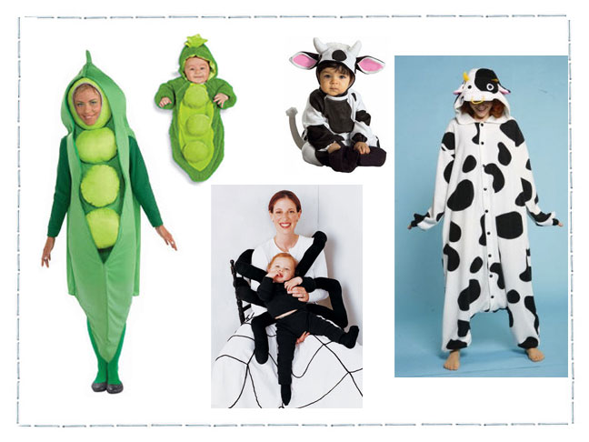 3 Fun Ideas For Mom Baby Halloween Costumes