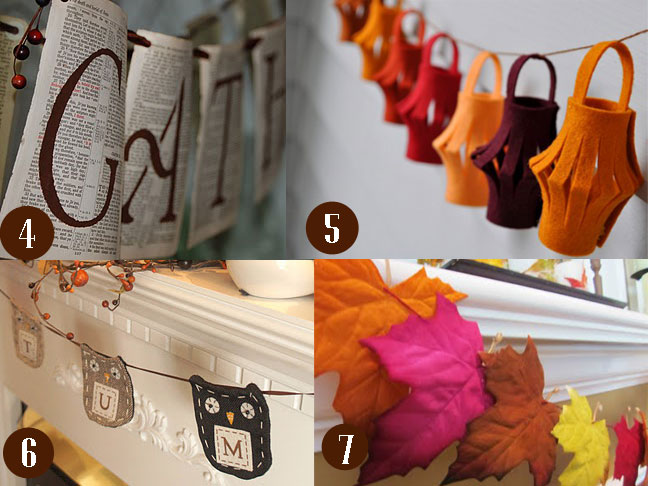 10 Fall Bunting Ideas For Your Home