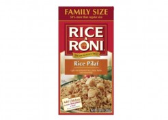 Rice-A-Roni issues small quantity Recall on Family-Size Rice-A-Roni Pilaf